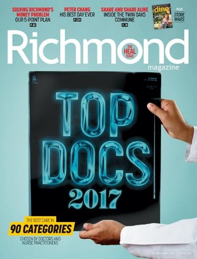 Richmond Magazine Top Docs Edition