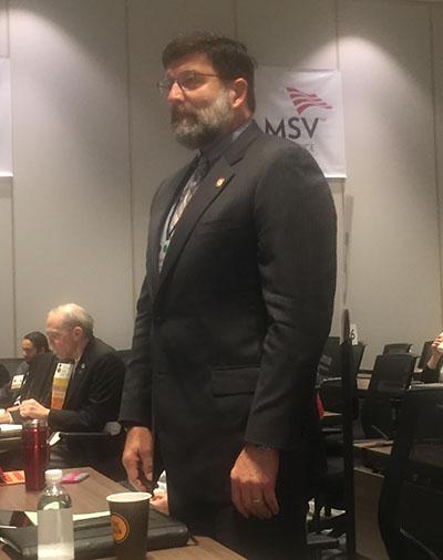 Dr. Richard Szucs installed as president elect of MSV