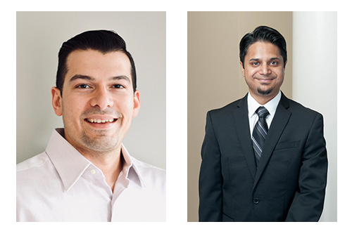 Commonwealth Radiology New Physicians Dr. Hussain and Dr. Kabadi