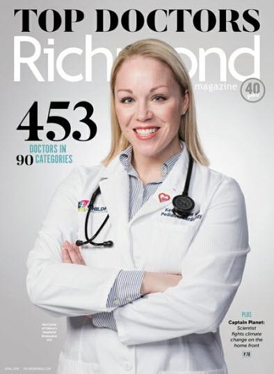 2019 Top Doctors Magazine cover