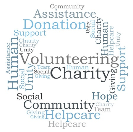 Commonwealth Radiology Charitable Contributions - Charity word cloud