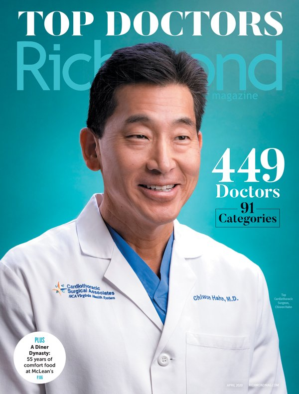 Richmond Magazine Top Doctors Cover - 2020